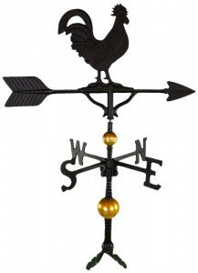 large rooster windvane under 100 dollar