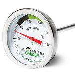 Premium compost thermometer with 20 ich probe