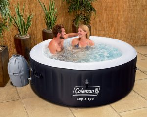 Coleman Saluspa portable hot tub review