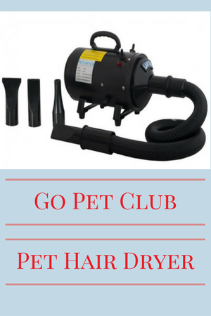 dog hair dryer from go pet club