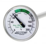 REOTEMP Backyard Compost Thermometer 20 inch probe
