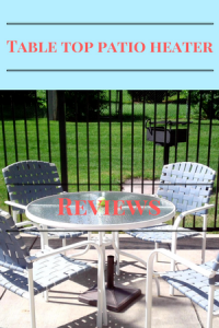 tabletop patio heater reviews