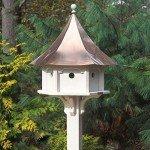 copper roof birdhouses