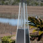 pyramid patio heater review fire sense stainless steel
