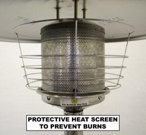 Az table top patio heater heat screen