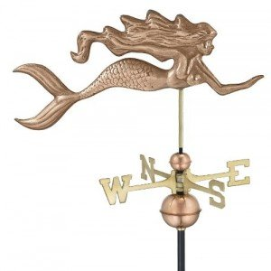 mermaid on a weather vane