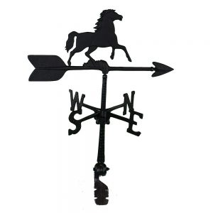 hand cast horse weathervane