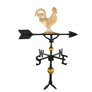 golden rooster windvane