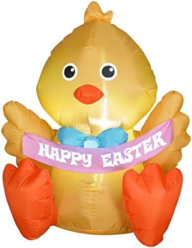 Inflatable Outdoor Happy Easter Chick