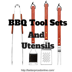 BBQ and grill tool sets and utensils