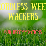 cordless trimmers and weed wackers