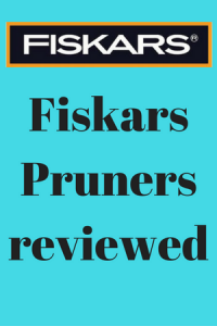 Fiskar pruner reviewed