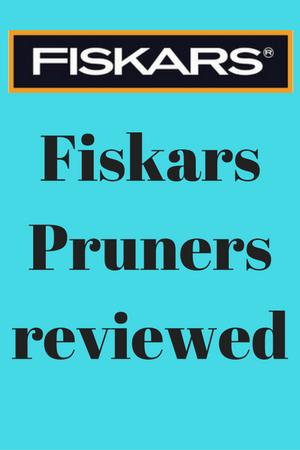 Fiskars Pruners review