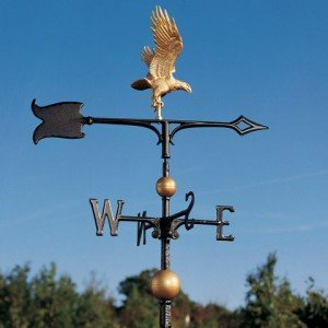 golden eagle weather vane