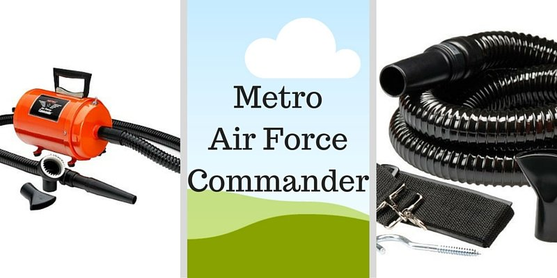 Metro air force commander professional dog dryer