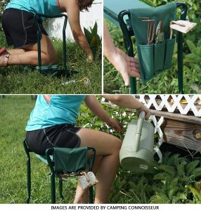 ohuhu garden kneeler with handle