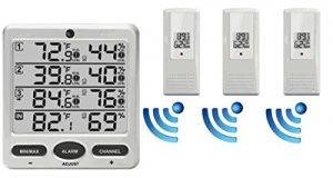 infoor outdoor thermometer from Ambient