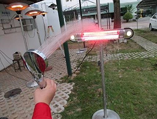az electric patio heater water proof