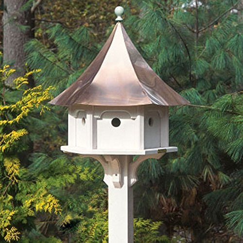 copper roof birdhouse
