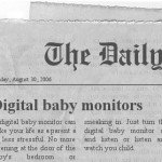 Digital baby monitor reviews