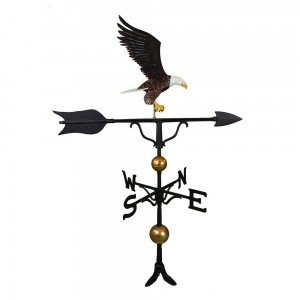 American eagle on a weather vane