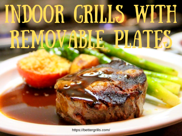 5 Best Indoor Grills With Removable plates