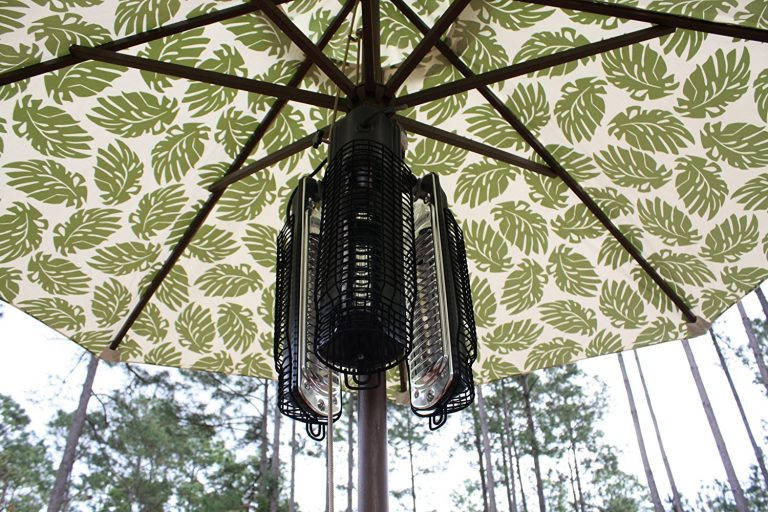 Fire Sense Infrared Umbrella Patio Heater