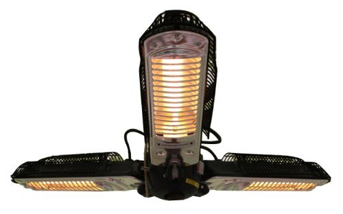 fires sense infrared parasol patio heater