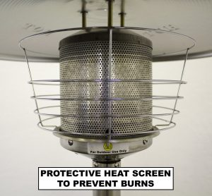 Az table top patio heater heat screen