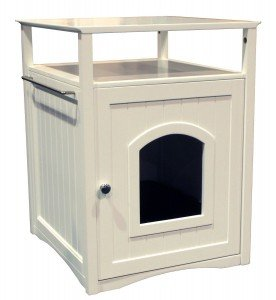 merry pet cat washroom with stand