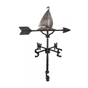 Sailboat windvane made of Swedish iron