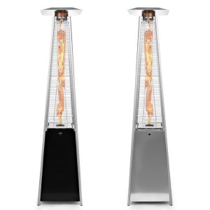 tikit thermo patio heater with dancing flame